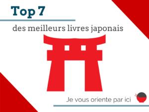 top 7 livre japonais