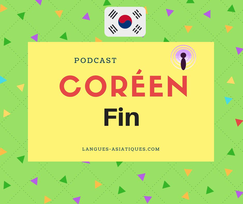 Podcast coréen 16