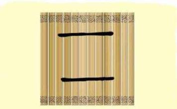 L'origine du caractère chinois 二 - èr - deux