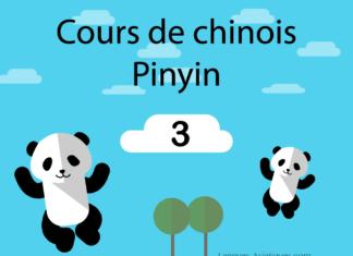 apprendre chinois pinyin 3
