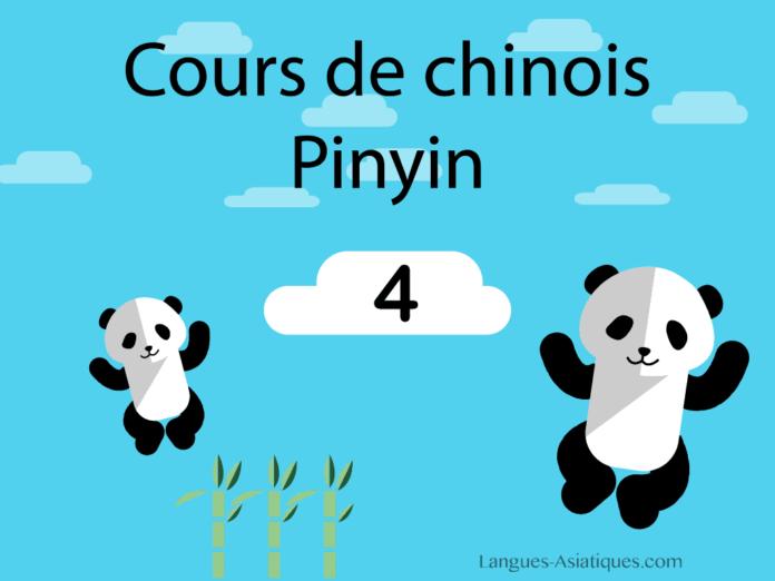 cours de chinois pinyin 4