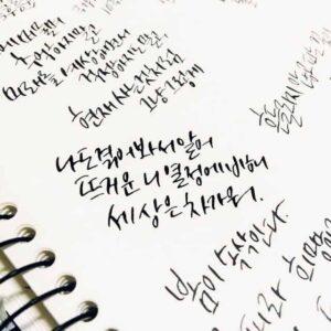 le hangeul coréen