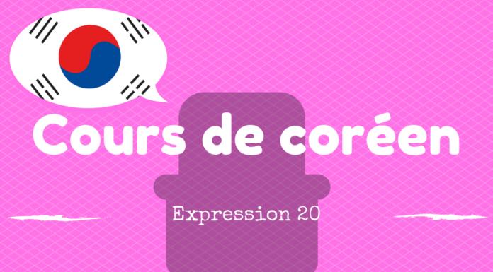 expression coreenne 20
