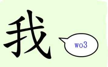 L'origine du caractère chinois 我 - wǒ - je