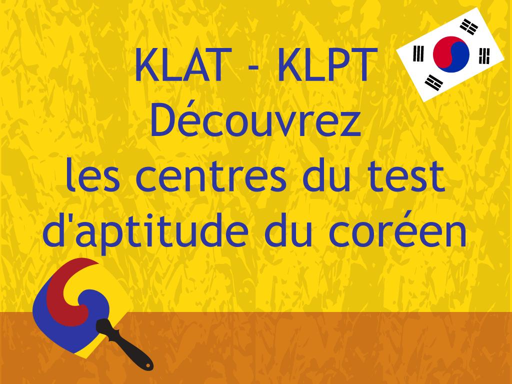 KLAT KLPT centre de test