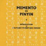 Mémento du pinyin :