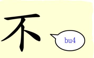 L'origine du caractère chinois 不 - bù - ne...pas