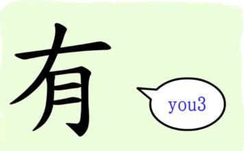 L'origine du caractère chinois 有 - yǒu - avoir