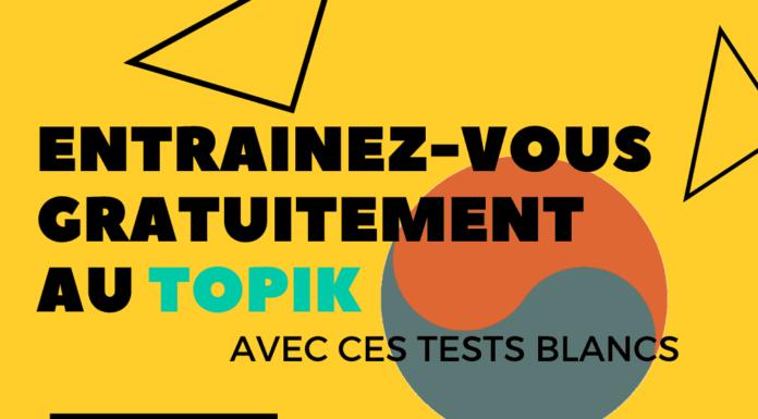 Entrainez-vous gratuitement au Topik avec ces tests blancs
