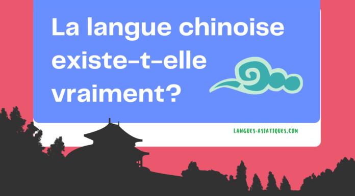 La langue chinoise existe-t-elle vraiment?