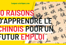 10 raisons d'apprendre le chinois pour un futur emploi