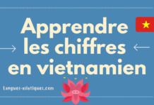 Apprendre les chiffres en vietnamien