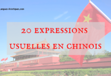 20 expressions usuelles en chinois
